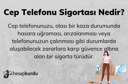 Telefon Sigortası İnfografik