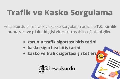 Trafik ve Kasko Sorgulama