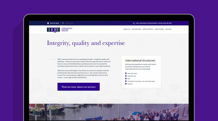 iqe site visual