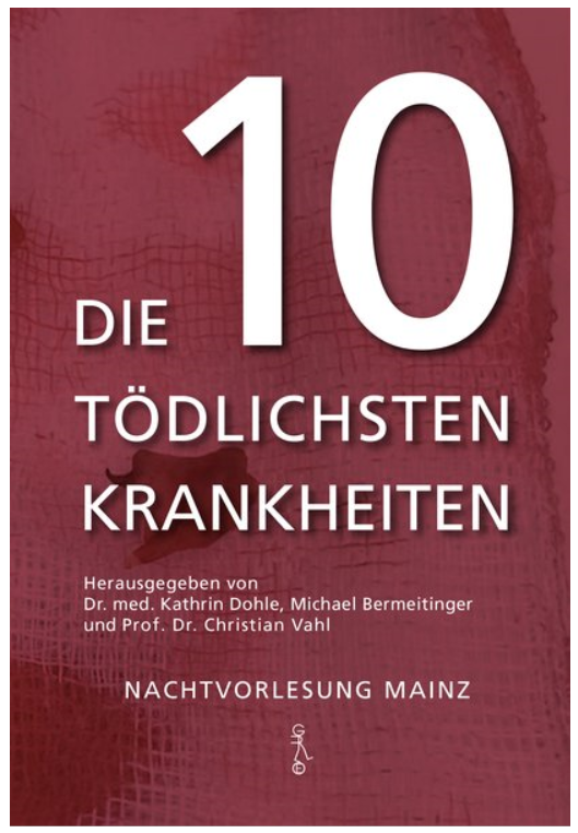 """Buchcover """"Die 10 tödlichsten Krankheiten"""""""