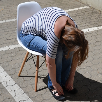 Rückenübung unteren Rücken dehnen