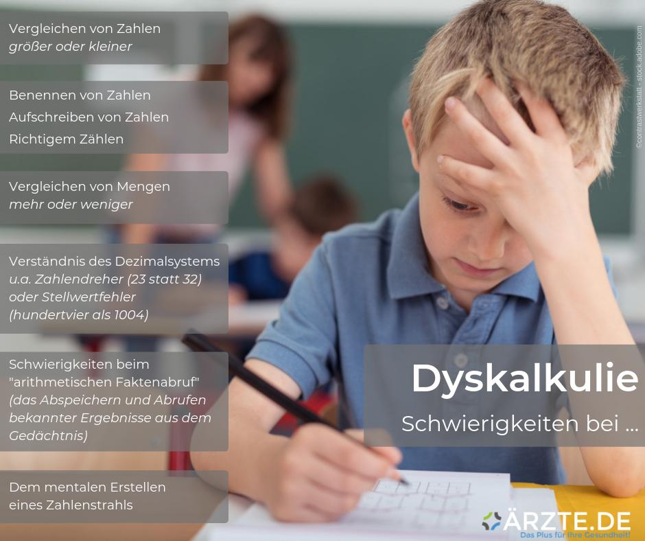 Dyskalkulie ÄRZTE.DE