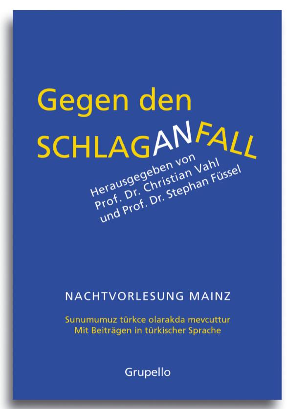 "Buchcover ""Gegen den Schlaganfall"""