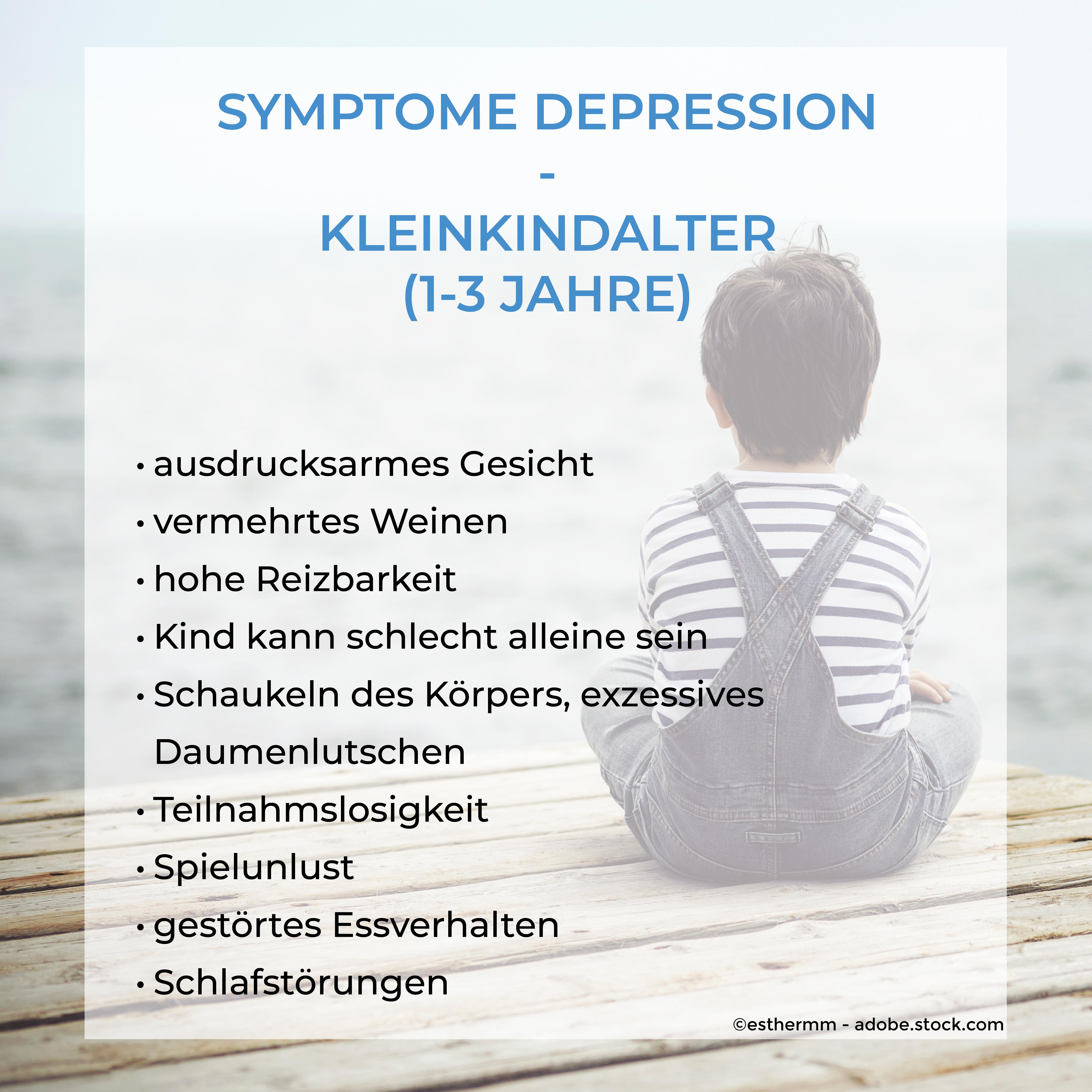 Symptome Kleinkindalter Depression