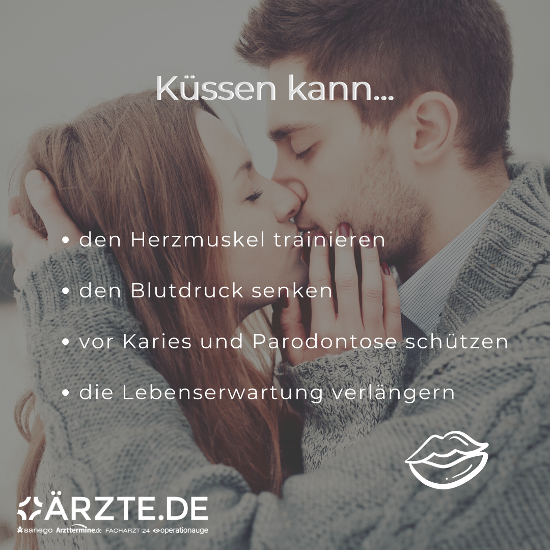 So positiv ist Küssen für die Gesundheit