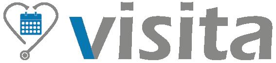 Logo des Online-Terminbuchungstools visita von arzttermine.de