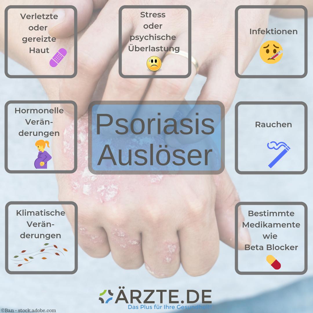 Psoriasis Auslöser