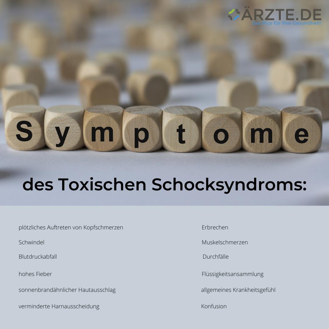Symptome des TSS