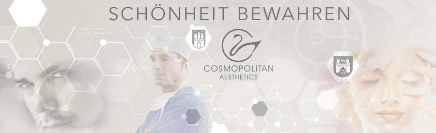 Banner Cosmopolitan Aesthetics Hamburg