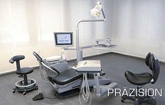 Zahnarzt Oliver Brendel Behandlungszimmer