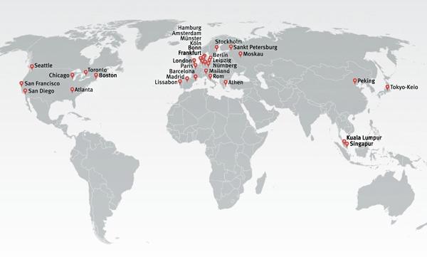 Weltkarte BKK Dr med Detley Breyer Augenarzt