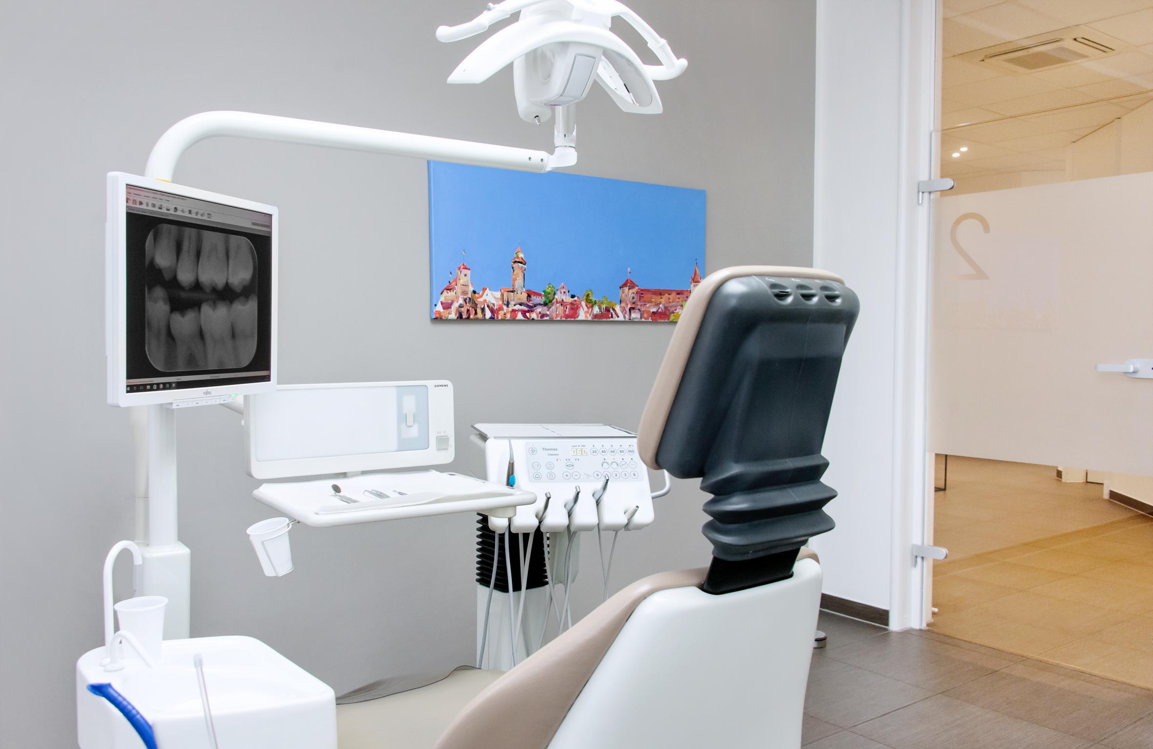 Zahnärzte Dr. Dotzler & Dr. Krupka Behandlungszimmer 2