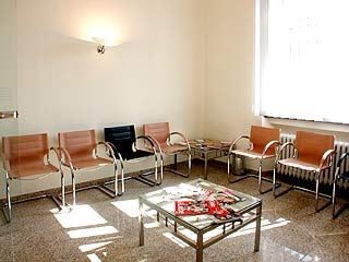 Wartebereich Dr. Juraj Galan Hausarzt Mainz