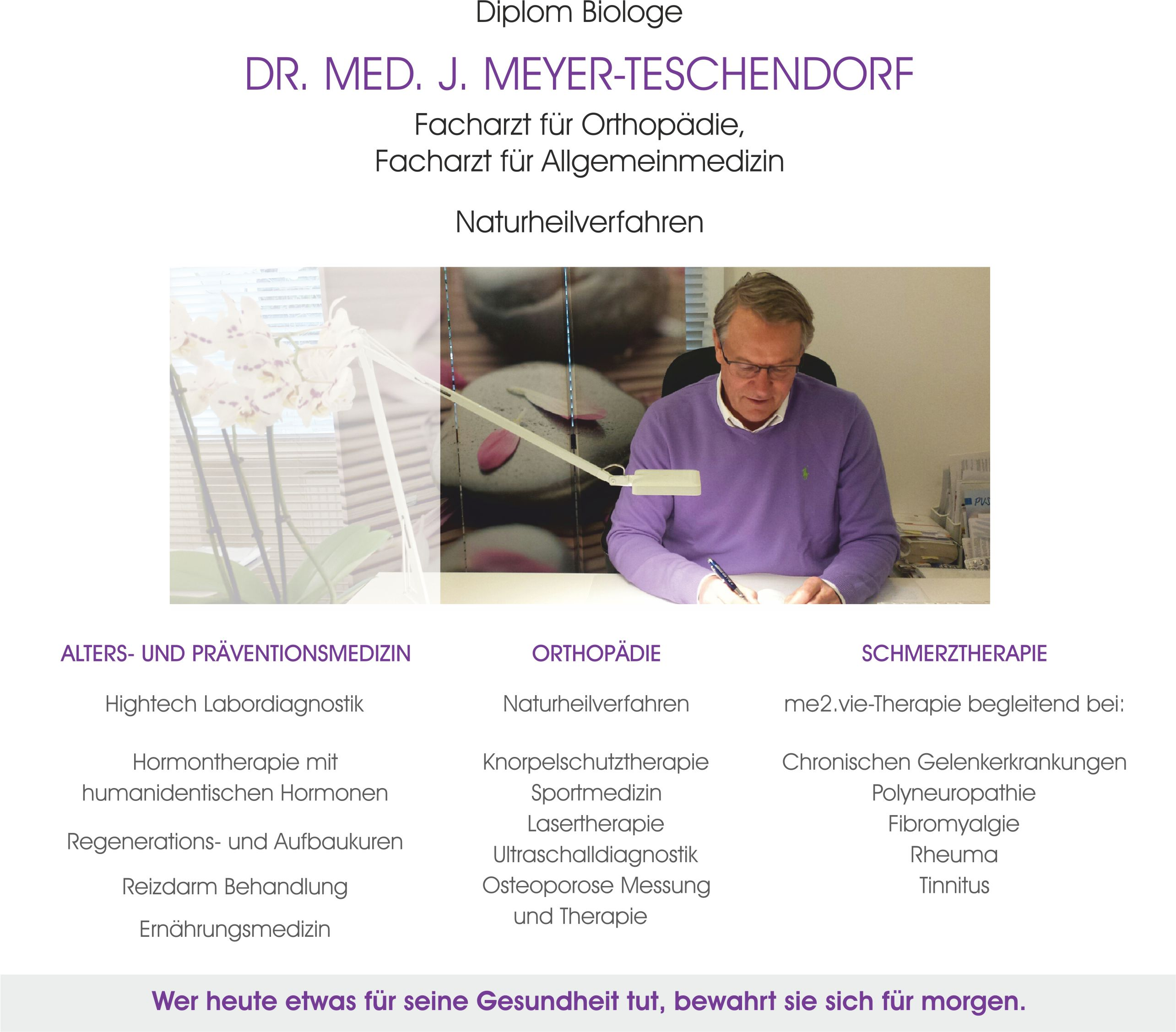 Dr. Jochen Meyer-Teschendorf Praxis Philosophie