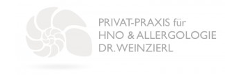 Praxislogo HNO-Privatpraxis Dr. Ines Weinzierl in Nürnberg-Mögeldorf