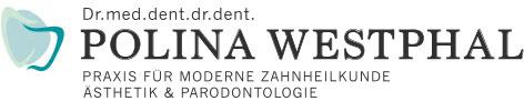 Logo Zahnarztpraxis Dr. med. dent. Dr. med. Polina Westphal Wuppertal
