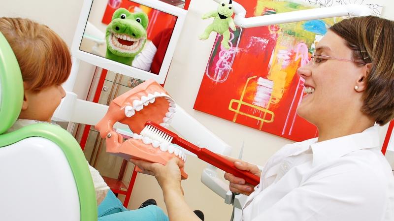 Kinderzahnarzt Richtig Zähne putzen