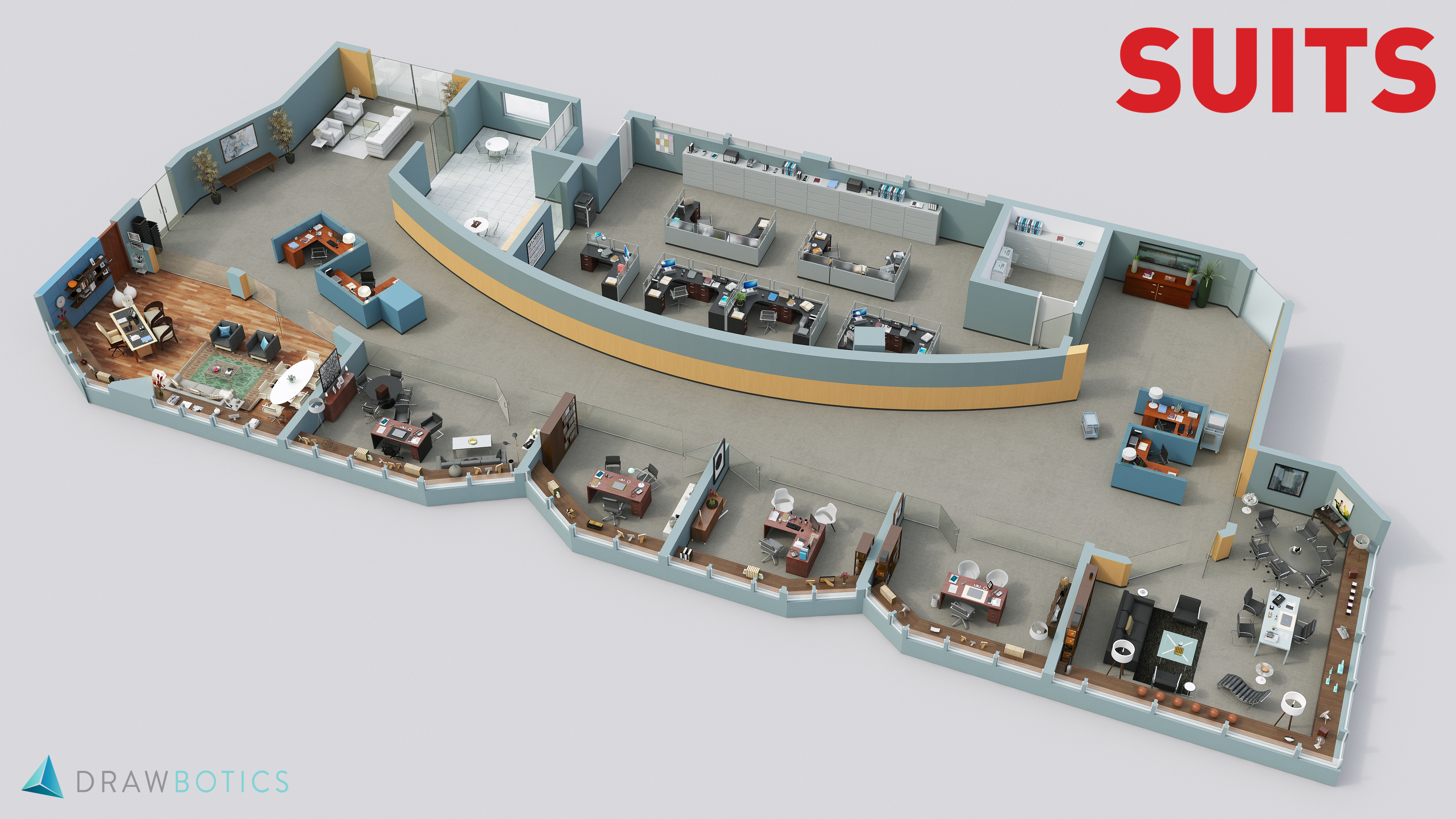 Famous TV Shows Brought to Life with 3D plans | Drawbotics