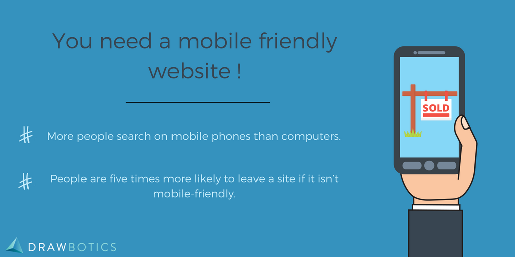 Mobile friendly website for SEO infographic