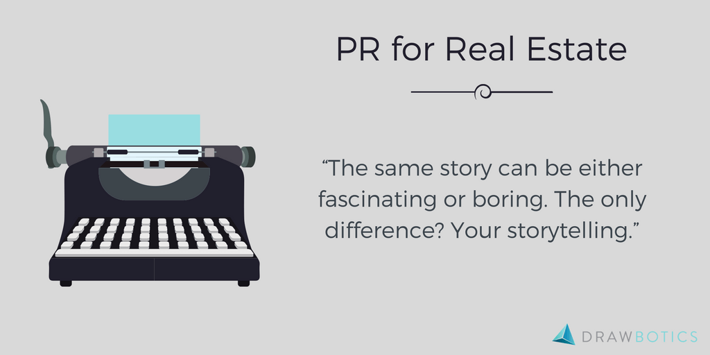 Real Estate PR Infographic