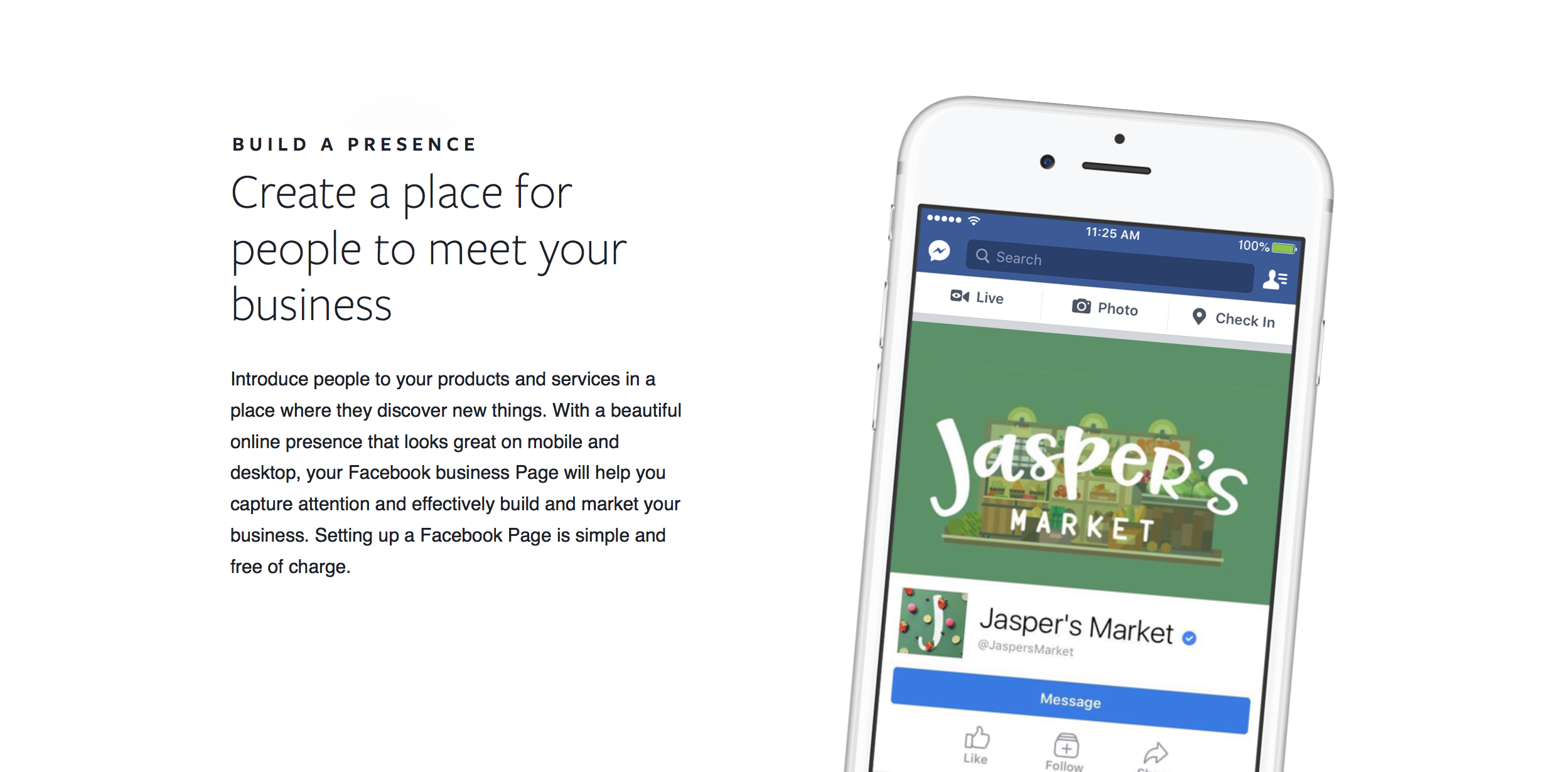 Learn more about Facebook's Business Pages