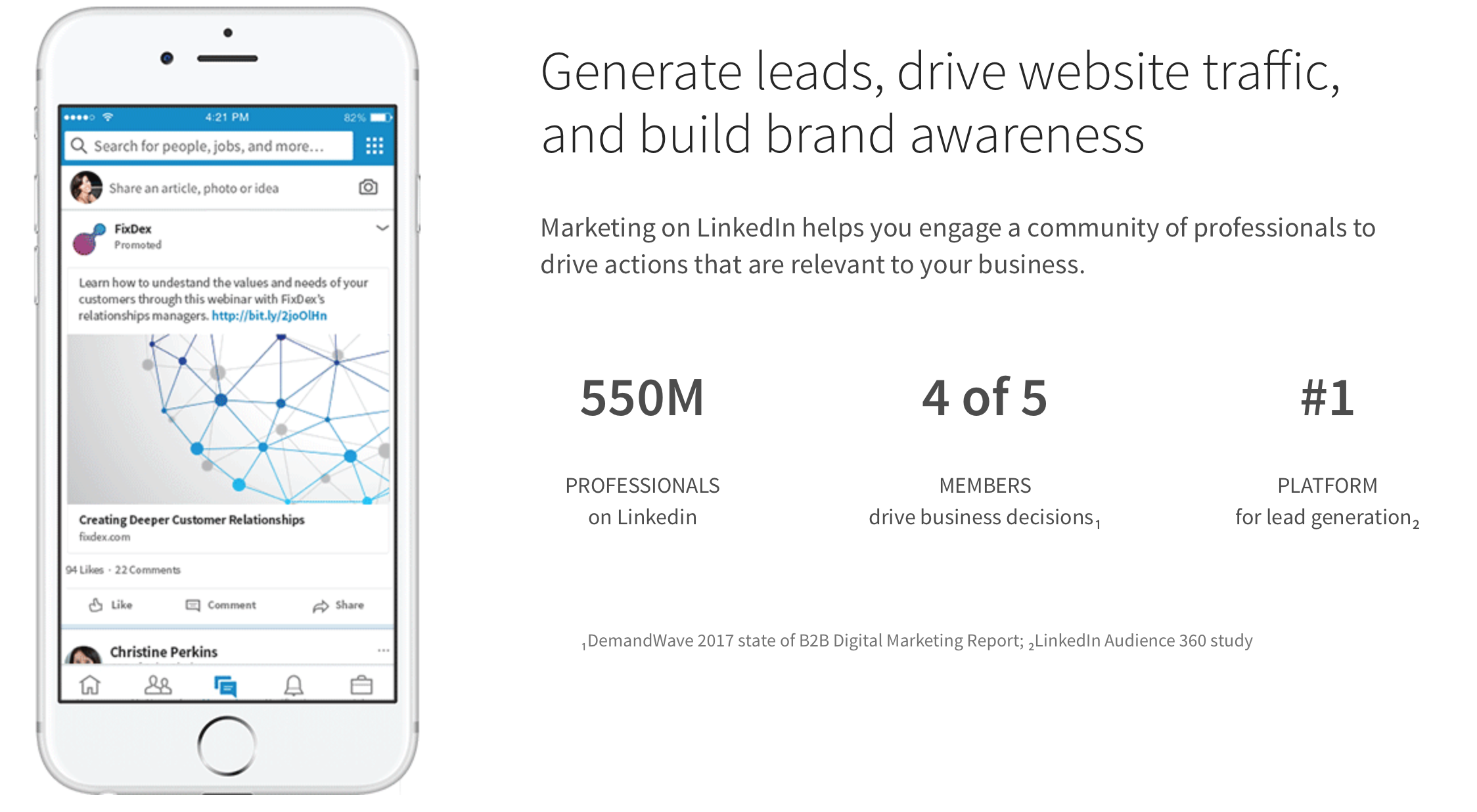 Learn more about LinkedIn's Marketing Features