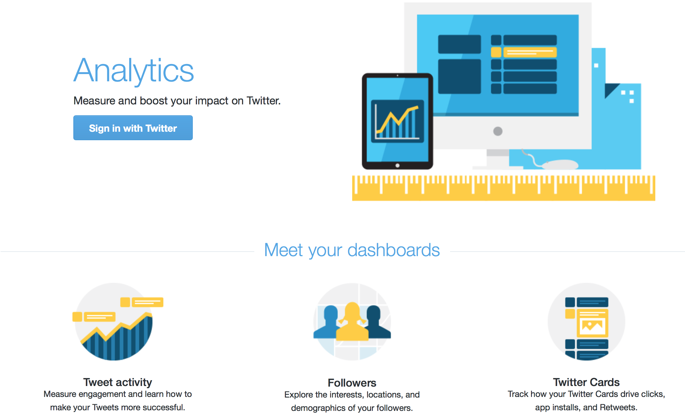 Learn more about Twitter Analytics