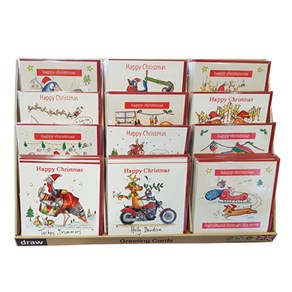 Christmas Card Display Unit