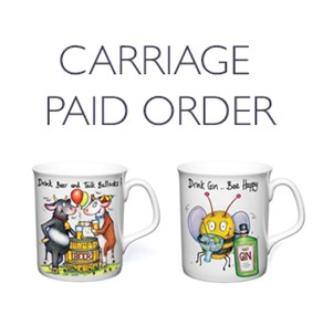 Selection of 26 Best selling Mugs