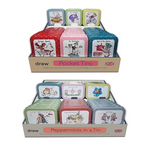 Peppermint and Pocket Tins POS Units