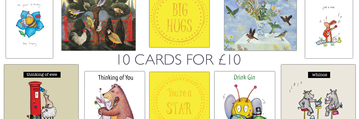 10 Cards for £10