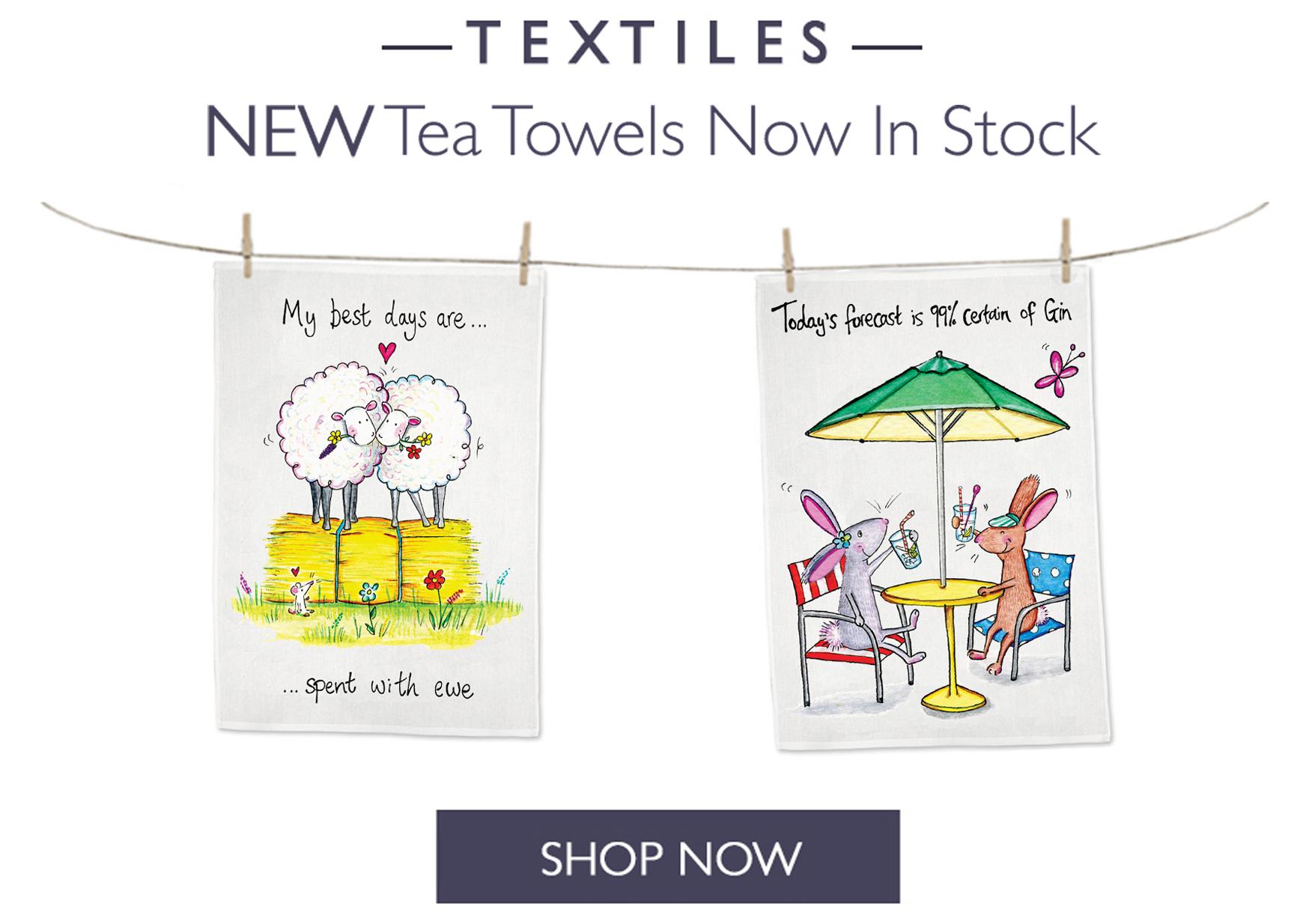 New Tea Towels