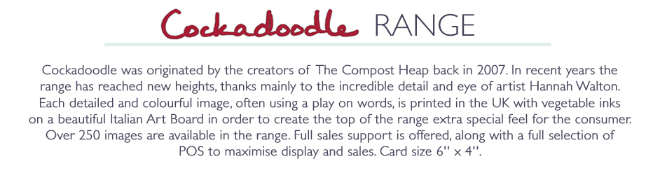 Cockadoodle Cards