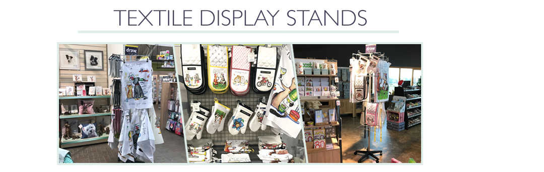 Textile Display Stands