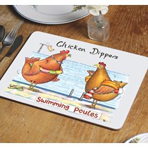 Chicken Dippers Table Mat