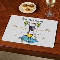 Gin Membership Table Mat