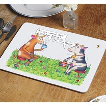 Mad Cow Table Mat
