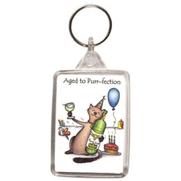 Purr-fection Key Ring