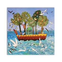 Bird Ark Greeting Card
