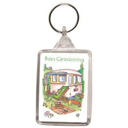Caravanning Key Ring