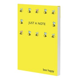 Bee Jotter Pad Yellow