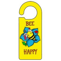 Bee Yellow Door Hanger