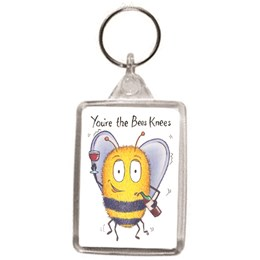 Bees Knees Key Ring
