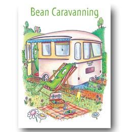 Bean Caravanning Greeting Card