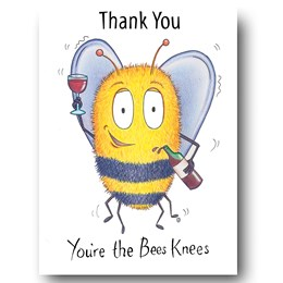 Bee's Knees Greeting Card
