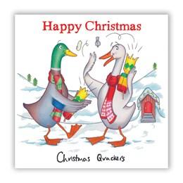 Quackers Christmas Card