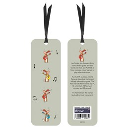 Grey hares Bookmark Grey