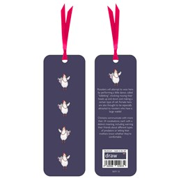 Cool Chick Bookmark Dark Blue