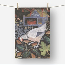 Blue Hatch Tea Towel
