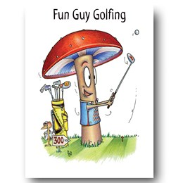Fun Guy Golf Greeting Card
